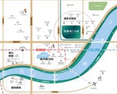 龙湖春江天越规划图