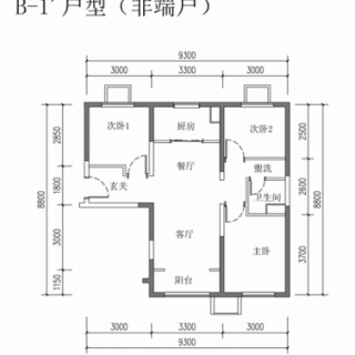 B-1(非端户)