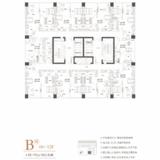 B户型06-12F