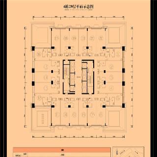6栋29层户型图