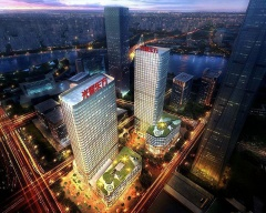 光耀东方文化广场效果图