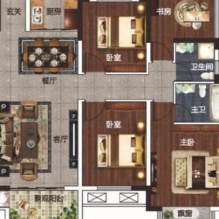 A3+1房2厅2卫