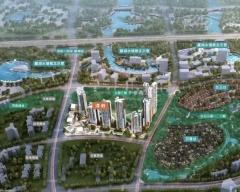 麓湖生态城效果图