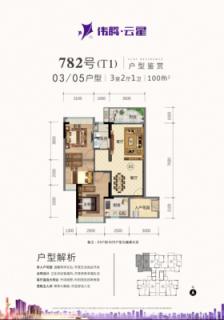 782号(T1)03/05户型