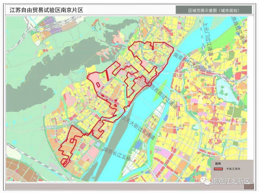 南京自贸区范围确定,七大亮点独具特色
