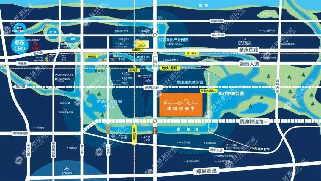 康桥香溪里规划图2