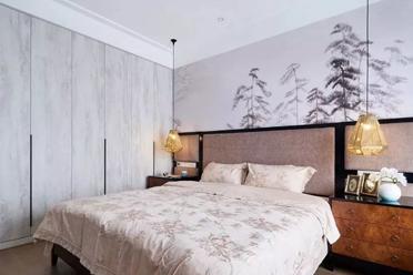 床头背景墙这样设计颜值加倍