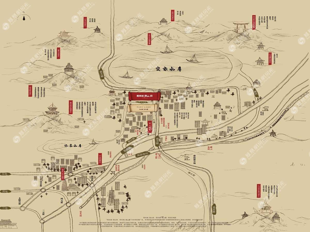 阳光城·溪山悦规划图2